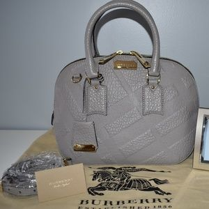 AUTHENTIC BURBERRY SATCHEL (BRAND NEW WITH TAGS)